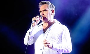 Morrissey at Hop Farm festival 2011