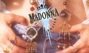 Sleeve for Madonna's Like a Prayer