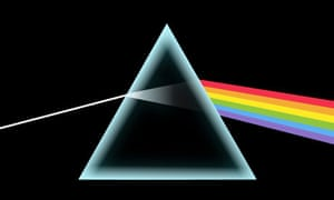 The sleeve for Pink Floyd's Dark Side of the Moon