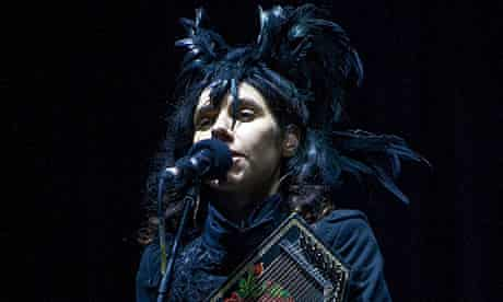 PJ Harvey at Bestival 2011