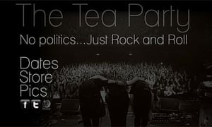 Tea Party website