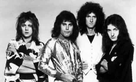 Queen in the late 70s