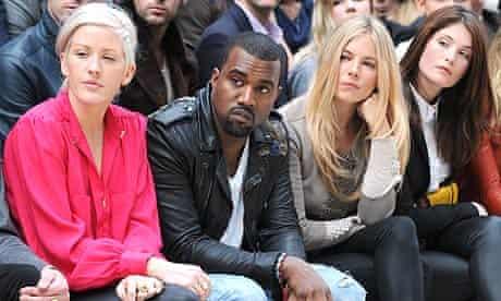 Kanye West at London Fashion Week 2011