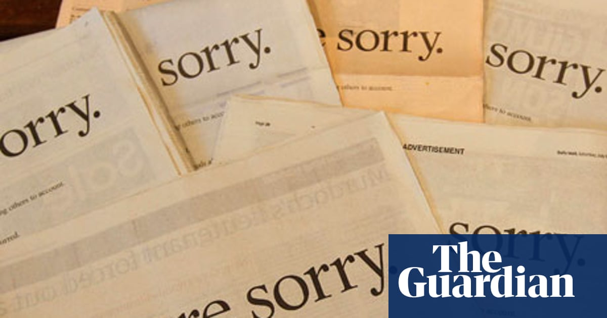 Readers recommend: songs about apologies – results | Music