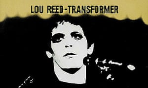 Sleeve for Lou Reed's Transformer