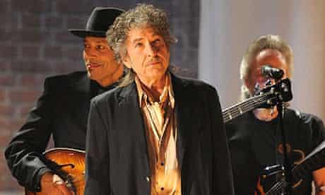 Bob Dylan at the Grammys 2011