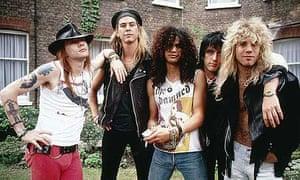 Guns N' Roses in 1986