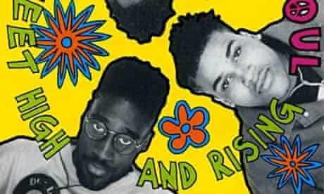 Sleeve for De La Soul's Three Feet High and Rising