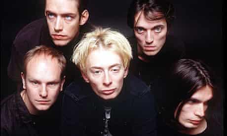 Radiohead in 1996