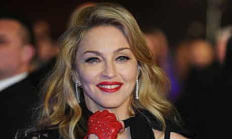 Madonna at W.E. premiere in London
