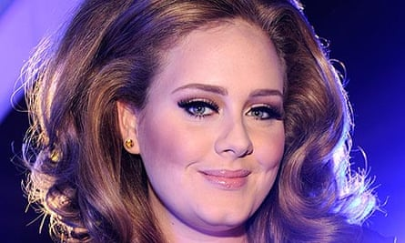 Adele at the MTV Video Music awards 2011