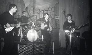 The Beatles in Hamburg, December 1962