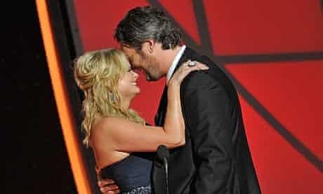 Miranda Lambert and Blake Shelton at CMAs