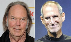 Neil Young and Steve Jobs