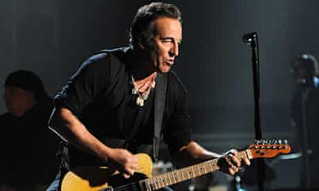 Bruce Springsteen at the 2012 Grammy awards