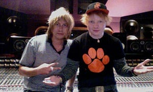 Jake Gosling and Ed Sheeran