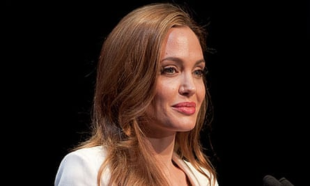 Angelina Jolie in 2012