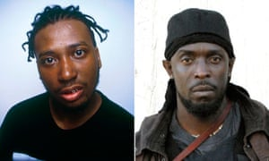 Ol' Dirty Bastard (left), and Michael K Williams as Omar Little in The Wire.