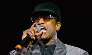 Soul singer Bobby Womack performs in London.