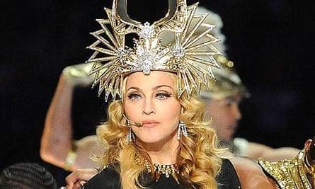 Madonna at 2012 Super Bowl
