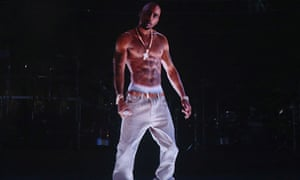 Tupac Shakur hologram at Coachella 2012