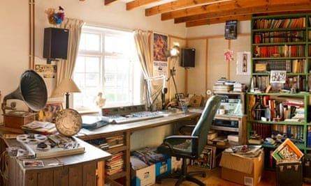A small part of DJ John Peel's record collection