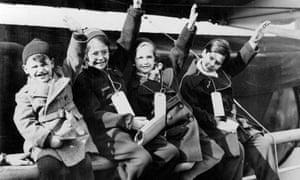 German-Jewish refugee children arrive at Southampton as part of the Kindertransport effort