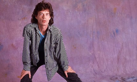 Mick Jagger in 1987