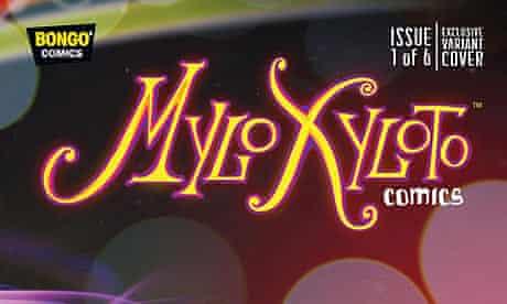Coldplay's Mylo Xyloto comic