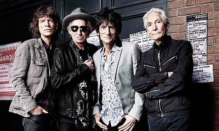 Rolling Stones outside the Marquee Club in London