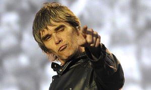Ian Brown of the Stone Roses in 2012
