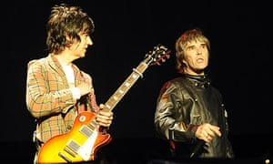 Jon Squire and Ian Brown of the Stone Roses