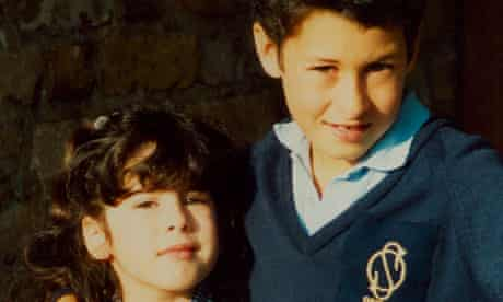 Amy Winehouse and her brother Alex