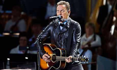 Bruce Springsteen in Oslo, July 2012
