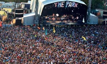 The Park stage at Glastonbury 2011