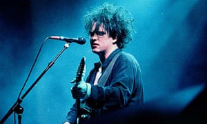 Robert Smith of the Cure in 1993