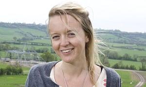 Emily Eavis at Worthy Farm, Glastonbury