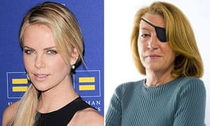 Charlize Theron and Marie Colvin