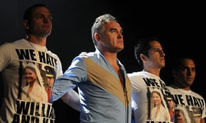 Morrissey performs at Manchester Arena in 2012