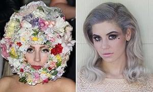 Lady Gaga and Marina Diamandis