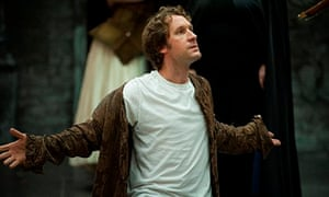 Jacques Imbrailo in rehearsal for Scottish Opera's Don Giovanni 2013