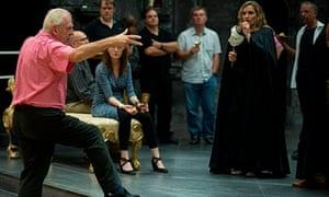 Rehearsals for Scottish Opera's Don Giovanni, 2013.