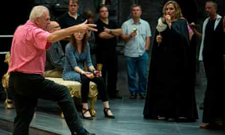 Rehearsals for Scottish Opera's Don Giovanni, 2013.
