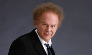 Art's gallery … the singer Art Garfunkel.