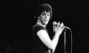 Sunday mourning … streams of Lou Reed's music have jumped 3,000% following news of his death, accord