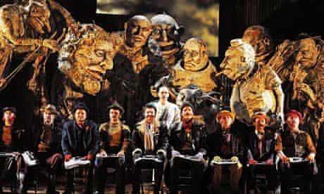 ENO's production of Philip Glass's Satyagraha