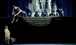 Magic Flute rehearsal, ENO 2013