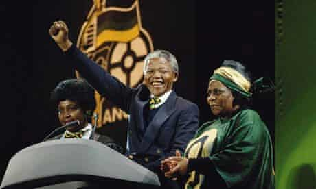 Free Nelson Mandela - at Wembley in 1990