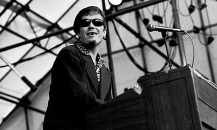 Free Nelson Mandela - Jerry Dammers of the Specials at Rock Against Racism, Leeds, in 1981