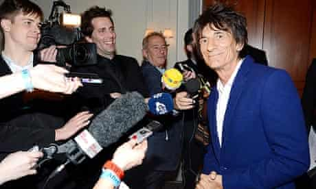 Ronnie Wood in 2013